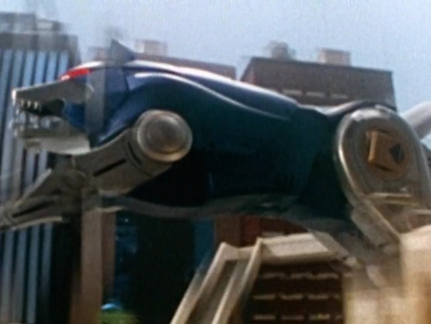 Blue wolf zord - photo#24