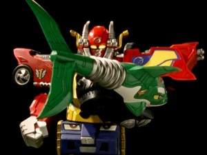 High Octane Megazord Tail Spinner