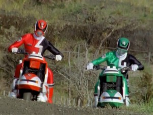 Red & Green Patrol Cycles