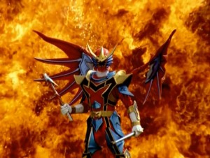 Red Dragon Fire Ranger Winged