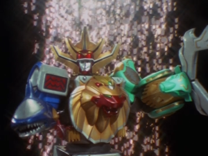 Wild Force Megazord Clutcher Mode