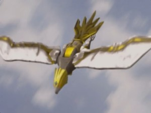 Yellow Eagle Wildzord