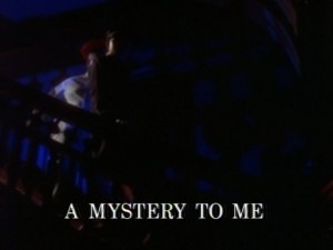 A Mystery To Me