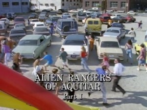 Alien Rangers Of Aquitar Part 1