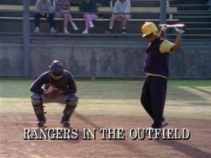 Rangers In The Outfield