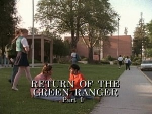 Return Of The Green Ranger Part 1