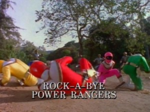 Rock-A-Bye Power Rangers