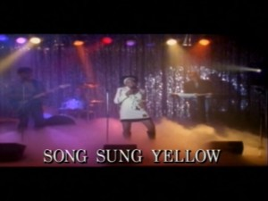 Song Sung Yellow