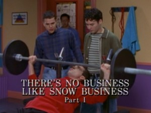 There's No Business Like Snow Business Part 1