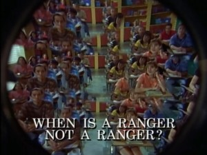 When Is A Ranger Not A Ranger