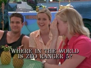 Where In The World Is Zeo Ranger 5