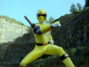Yellow Wind Ranger DT