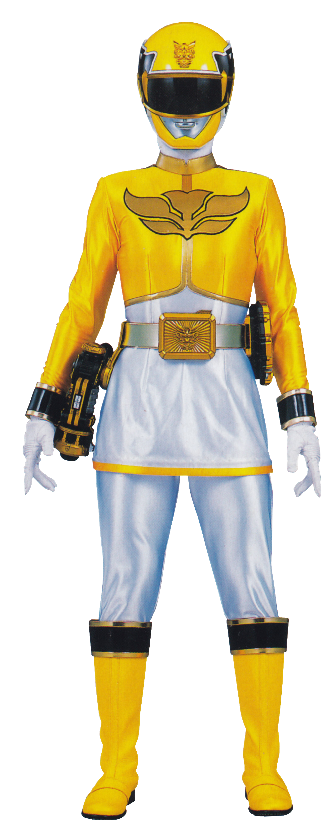 yellow power ranger megaforce - photo #4