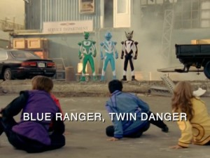 Blue Ranger Twin Danger