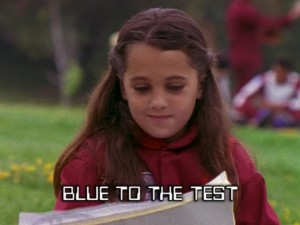 Blue To The Test