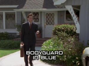 Bodyguard In Blue