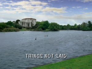 Things Not Said