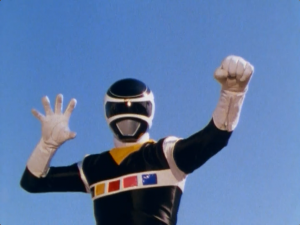 Black Space Ranger