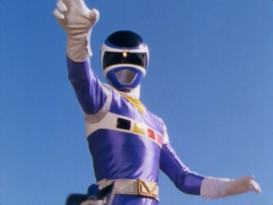 Blue Space Ranger