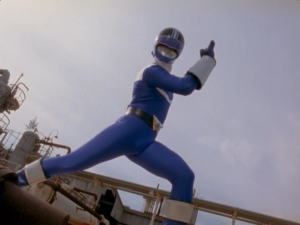 Blue Time Force Ranger