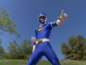 Blue Turbo Ranger