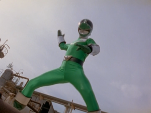 Green Time Force Ranger