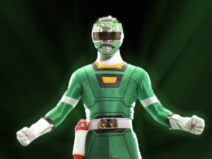 Green Turbo Ranger II