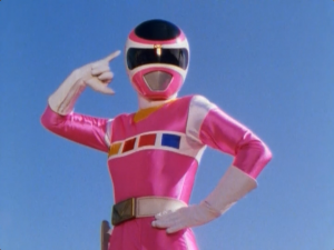 Pink Space Ranger