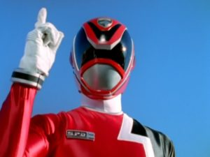 Red SPD Ranger