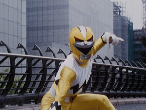 Yellow Galaxy Ranger