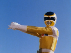 Yellow Space Ranger