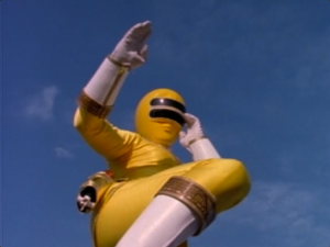 Zeo Ranger 2 Yellow