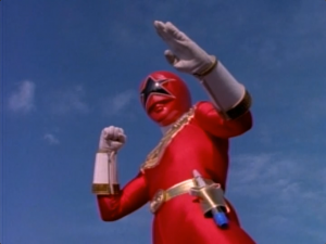 Zeo Ranger 5 Red