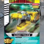 Tiger Mechazord Card