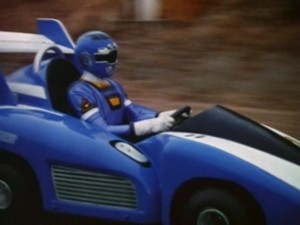 Blue Turbo Cart