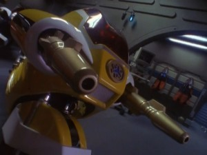 Yellow Lightspeed Cycle