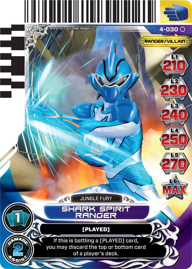 Spirit rangers added to legends unite acg set morphin - Power rangers megaforce jungle fury ...