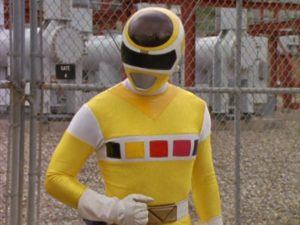 Evil Yellow Space Ranger