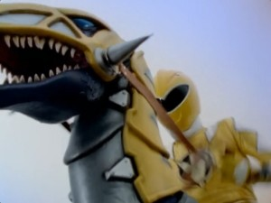 Yellow Raptor Rider