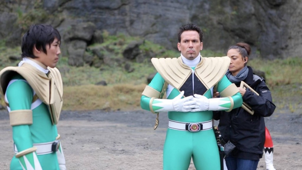 new behind the scenes pictures from super megaforce