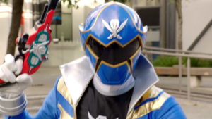 Jake As Super Megaforce Blue