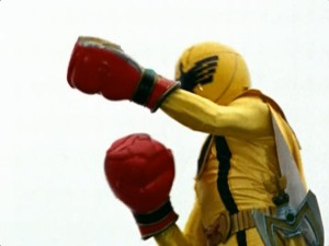 Mystic Force Fighters Yellow
