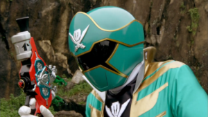 Noah As Super Megaforce Green