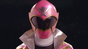 Pink Super Megaforce Ranger