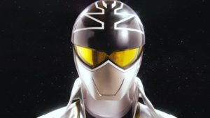 Silver Super Megaforce Ranger