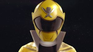 Yellow Super Megaforce Ranger
