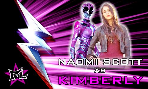 Naomi Scott As Kimberly