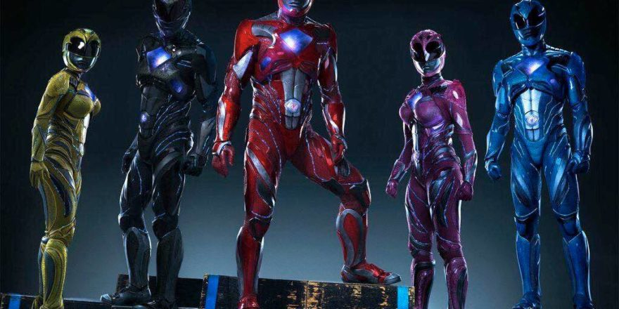 Power Rangers 2017 Movie Suits