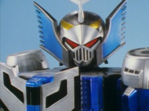 Stratoforce Megazord Evil