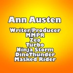 Ann Austin: Power Rangers Writer
